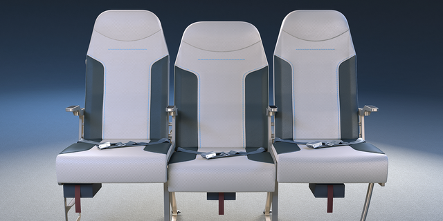 """When [an airline executive] sits down, it takes a couple of seconds, especially when they sit next to a big fella, but there's a significant change in their seating,"" said Scott."