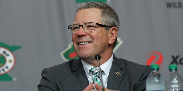 The Wild have fired Fenton after just one rough season, marked by the end of a six-year streak of making the playoffs and a disassembly of the once-promising core of forwards by trading Charlie Coyle, Mikael Granlund and Nino Niederreiter prior to the deadline. Wild owner Craig Leipold said he told Fenton of his dismissal on Tuesday, July 30, 2019 shortly before the team made the surprising late-summer announcement. (Shari L. Gross/Star Tribune via AP, file)