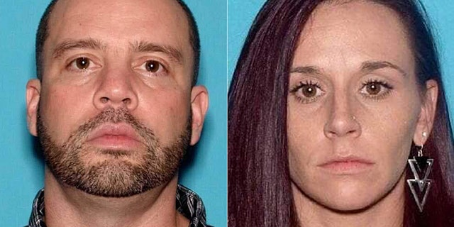 "Nicholas Layton, 39, and Rebecca Wills, 33, both of Mount Holly, N.J., were being sought by authorities after ""ghost guns"" and explosives were confiscated in a raid Monday."