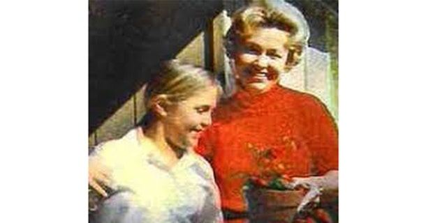 Dorthy Moxley and her daughter Martha, circa 1970s.