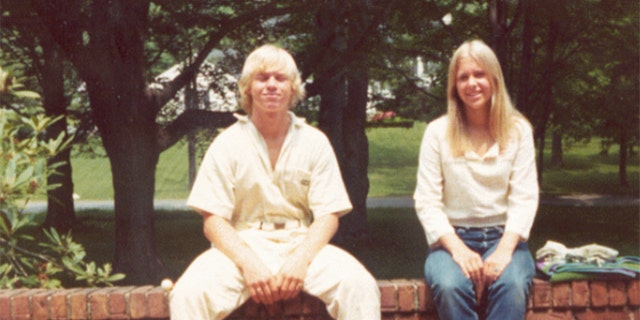 John Moxley with his sister Martha. — Oxygen