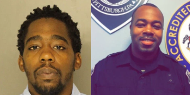 Christian Bey, is a person of interest in the fatal shooting of off-duty Pittsburgh officer Calvin Hall.