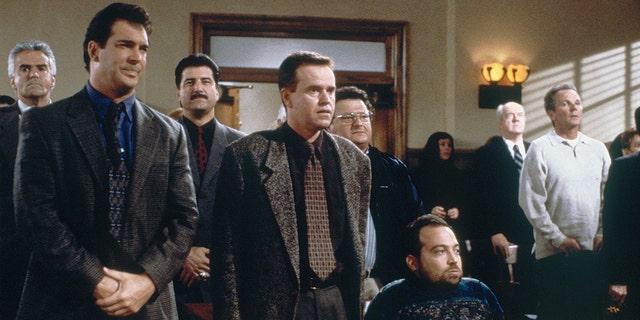 Patrick Warburton as David Puddy, Steve Hytner as Kenny Bania, Danny Woodburn as Mickey Abbott.