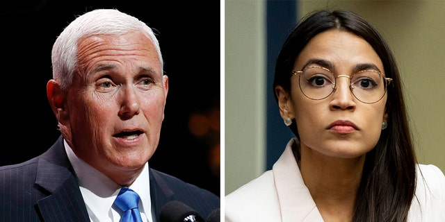 The debate performance of Vice President Mike Pence drew close scrutiny by U.S. Rep. Alexandria Ocasio-Cortez, D-N.Y.