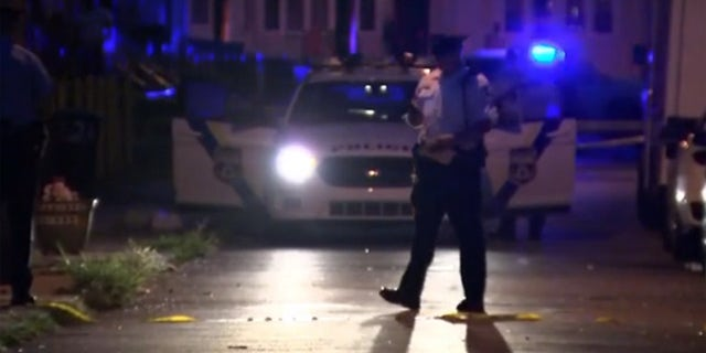 One man was killed and five others were hurt in a shooting moments before a rap video was to be filmed in southwest Philadelphia on Sunday, according to police.
