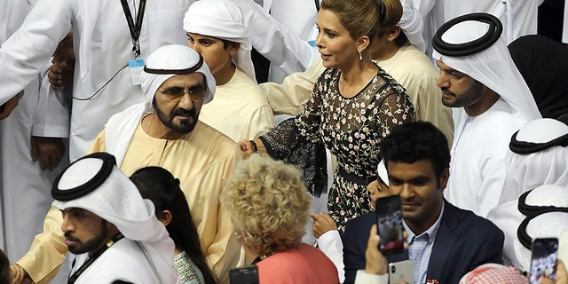 Westlake Legal Group Princess-Haya-Sheikh-Mohammed-Getty Dubai ruler's wife, Princess Haya, goes into hiding in UK and hires divorce lawyer: report fox-news/world/world-regions/united-kingdom fox-news/travel/regions/europe fox-news/politics/foreign-policy/middle-east fox news fnc/entertainment fnc Elizabeth Llorente article 925cedf0-0b67-5862-9730-47f6529062fd