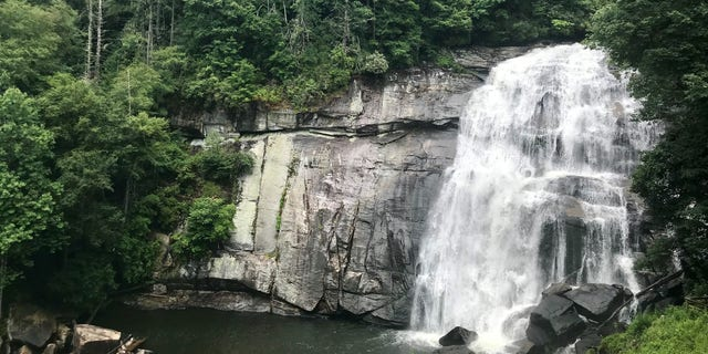 Rainbow Falls, Gorges State Park, N.C.