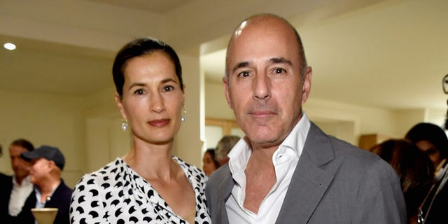 EAST HAMPTON, NY - AUGUST 12: Annette Roque and Matt Lauer attend Apollo in a Hamptons 2017: hosted by Ronald O. Perelman during The Creeks on Aug 12, 2017 in East Hampton, New York. (Photo by Kevin Mazur/Getty Images for The Apollo)