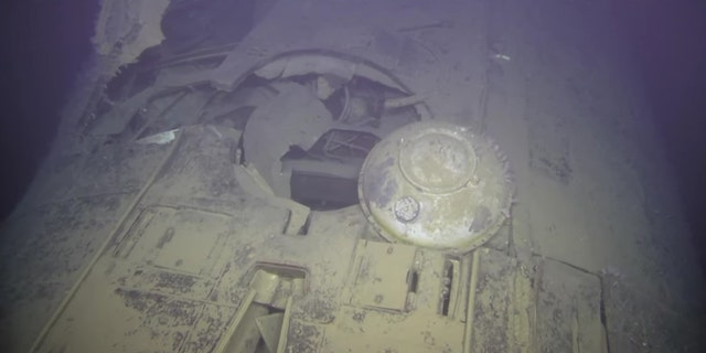 The submarine sank in Arctic waters in 1989. (Institute of Marine Research Norway/Ægir 6000)