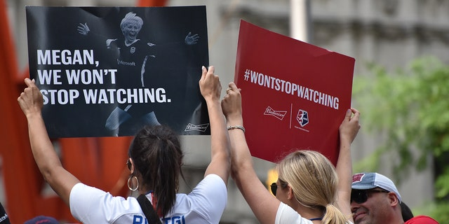 Fans vowed to watch Megan Rapinoe while she plays with Reign FC of the NWSL.