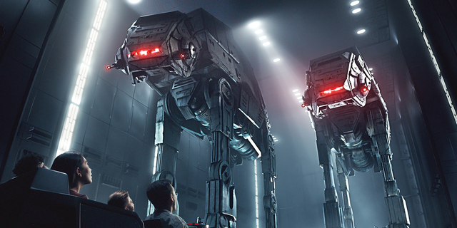 """The upcoming Rise of the Resistance attraction will """"put guests in the middle of a climactic battle between the First Order and the Resistance,"""" according to Disney.<br>"""