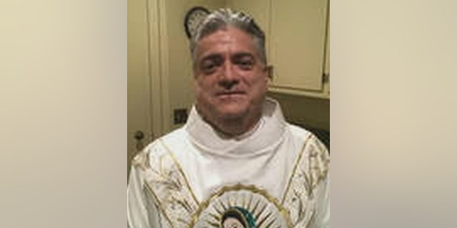 Father Oscar Alejandro Diaz Canchola, 56, is accused of stealing more than $95,000 from his parish.