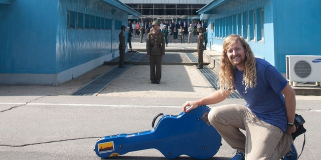 Sean Feucht, Bethel Music worship leader and founder of Light A Candle Foundation, wrote lyrics for a song for North Korea in the same spot President Trump embraced Kim Jong Un on soil in the Hermit Kingdom.
