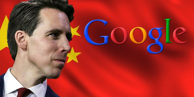 GOP Sen. Josh Hawley, seen above, had an intense exchange with a top executive from Google this week.