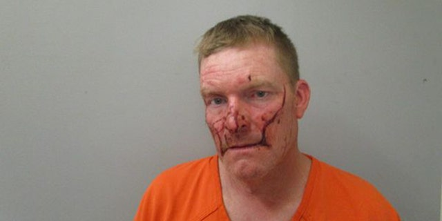 Shay Michael Thome was arrested Sunday.