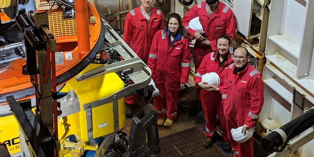 Students from the University of Southampton and Stockholm KTH took part in the expedition aboard the Stril Explorer.