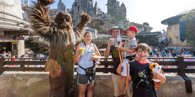 The Smugglers Run attraction at Disneyland, which opened along with the rest of Galaxy's Edge on May 31, will open on Aug. 29 at Disney World in Florida.disney