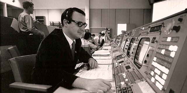 Picture of Apollo 11 guidance officer Steve Bales. (Credit: NASA-Houston Public Affairs)