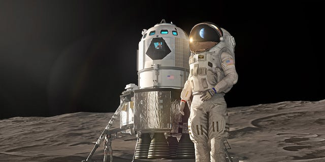 Lockheed Martin has proposed this lander design to return Americans to the moon in 2024.