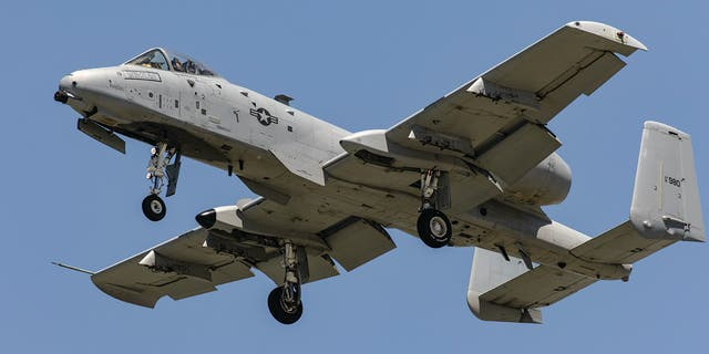 An A-10C Thunderbolt II jet dropped three dummy bombs over Florida on Monday, the Air Force said.