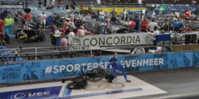 Lorenzo Gobbo had a square of lane stranded in him.