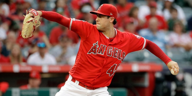 Tyler Skaggs started his final diversion dual days before his death. (AP Photo/Marcio Jose Sanchez)