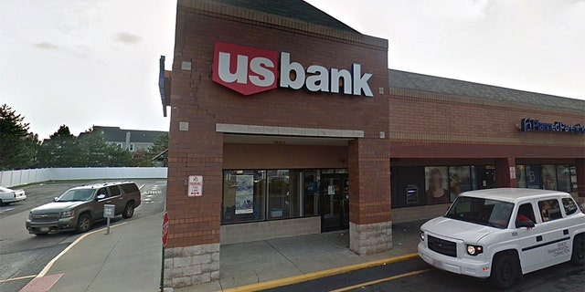 The bank teller at U.S. Bank in Cleveland reportedly referred to the alleged thief by his first name.