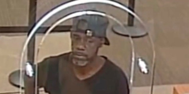 US News Michael Harrell, 54, robbed a U.S. Bank in Cleveland, Ohio, in July after handing a teller a note with his name on it, the FBI says. (Cleveland Division of the FBI via WJW)