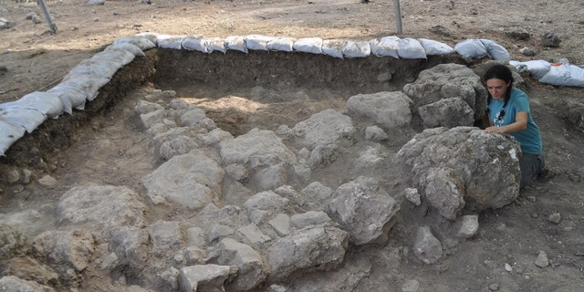 Part of the excavation site. (Israel Antiquities Authority/The Hebrew University in Jerusalem)