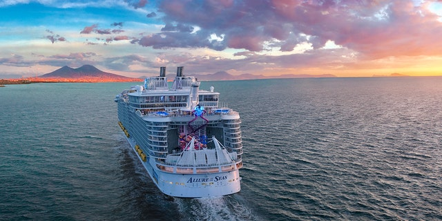 An external, rendered shot of the amplified Allure of the Seas to come.
