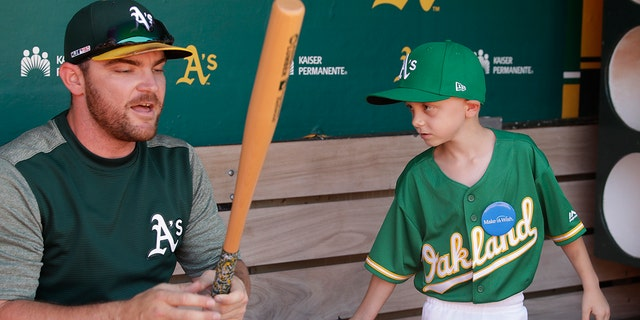 Westlake Legal Group august-wold2 Oakland Athletics' 8-year-old Make-A-Wish signee predicts home run in 5-4 win over Rangers Stephen Sorace fox-news/sports/mlb/oakland-athletics fox-news/sports/mlb fox-news/good-news fox news fnc/sports fnc article 45f95487-5340-5da0-acf4-03bbd4f94a8f