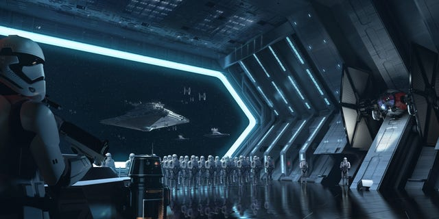 Disney guests will traverse the corridors of a Star Destroyer and join an epic battle between the First Order and the Resistance – including a faceoff with Kylo Ren – when Star Wars: Rise of the Resistance opens Dec. 5, 2019, at Walt Disney World Resort in Florida and Jan. 17, 2020, at Disneyland Resort in California. At 14 acres each, Star Wars: Galaxy's Edge at Disneyland, now open, and at Disney's Hollywood Studios, opening Aug. 29, 2019, is Disney's largest single-themed land expansion ever.