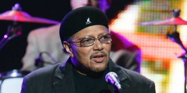 "This Sept. 20, 2005 file photo shows Art Neville performing during the ""From the Big Apple to the Big Easy"" benefit concert in New York."