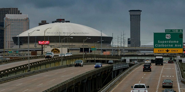 The Mercedes-Benz Superdome is where the Harper family cheers for the NFL's New Orleans Saints. (Associated Press)