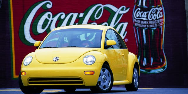 The New Beetle was designed by American J Mays.