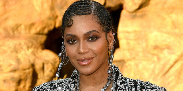"Beyoncé attends the premiere of Disney's ""The Lion King"" at Dolby Theatre on July 09, 2019 in Hollywood. The singer voices Nala in the live-action remake of the classic animated film."