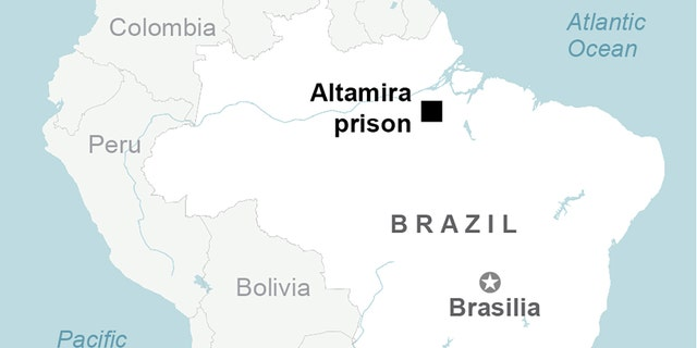 "A judge in charge of the Altamira facility in northern Brazil described the overall state of the prison as ""terrible."" (AP)"