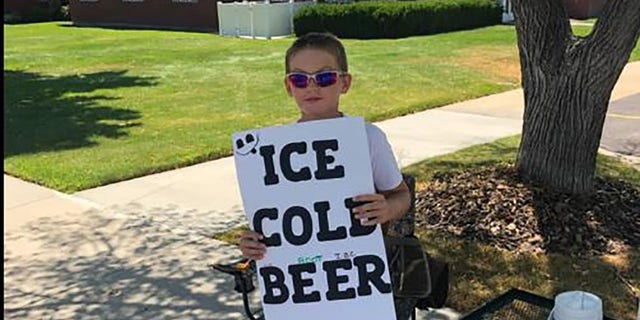 Westlake Legal Group brigham-city-police Utah boy selling 'ice cold beer' appears to be a savvy marketer fox-news/us/us-regions/west/utah fox news fnc/us fnc Brie Stimson article 5307e440-0f8e-54ce-abe1-911082ebe823