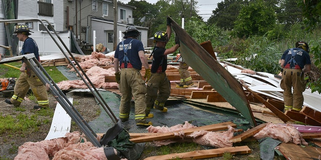 Westlake Legal Group cape-cod-4-AP Tornado hits Cape Cod leaving more than 33,000 residents without power Paulina Dedaj fox-news/weather fox-news/us/us-regions/northeast/massachusetts fox-news/us/disasters fox news fnc/us fnc article 2a5396fa-3b43-51e6-a1cf-0e3d87ba8bf4