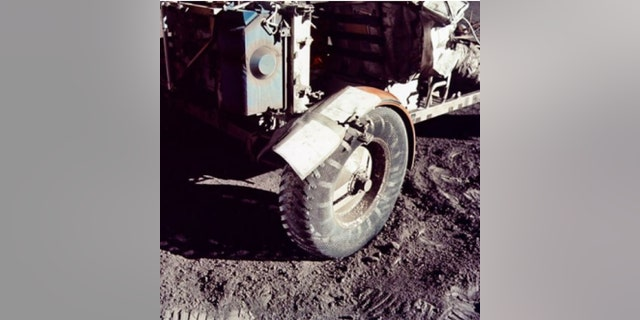 Cernan's extraterrestrial body work protected vital instruments from lunar dust.