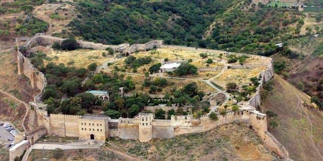 The Naryn-Kala citadel.