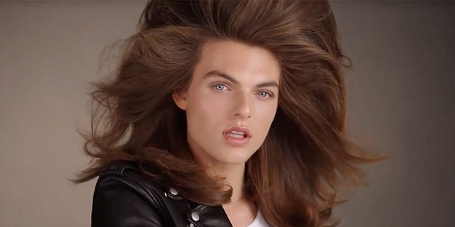 Damian Hurley, son of British model Elizabeth Hurley stars in new beauty campaign for Pat McGrath.