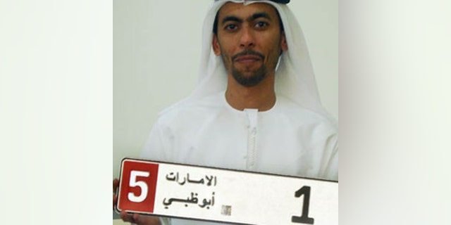 "Saeed Abdol Gharour Khour paid $14.3 million for a ""1"" in Abu Dhabi in 2008."