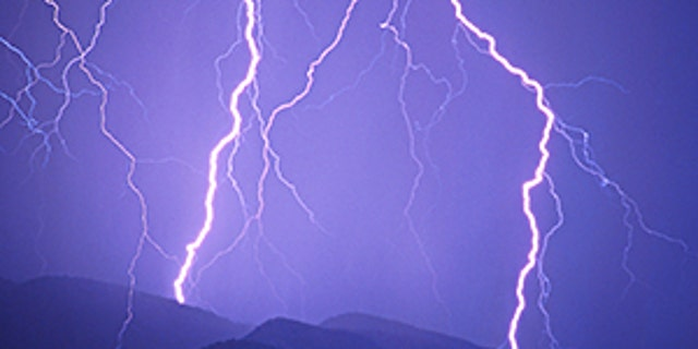According to government officials, a man was killed after being struck by lightning on a Colorado trail on Sunday.