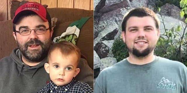 Nick Diemel, left, and Justin Diemel, were reported missing earlier this month.