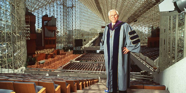 "The Rev. Robert Schuller, founder of the "" Hour Of Power"" television show and builder of the Crystal Cathedral in Garden Grove, Calif., died at age 88 in 2015. (Getty Images)"
