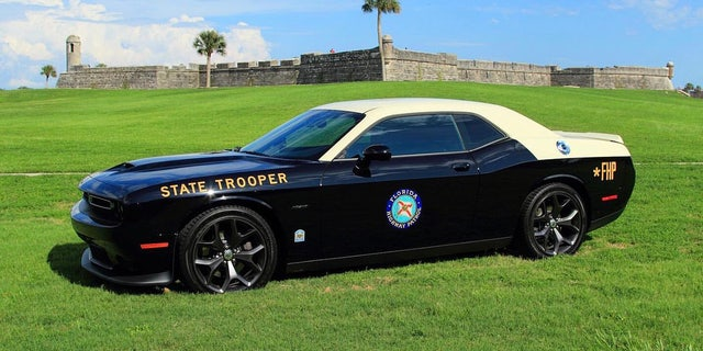 Westlake Legal Group fhp-12 Dodge Challenger cop car adds muscle to the Florida Highway Patrol fleet Gary Gastelu fox-news/auto/make/dodge fox-news/auto/attributes/performance fox-news/auto/attributes/custom fox news fnc/auto fnc article 1078da69-dbcf-5051-ac40-1769b8305546