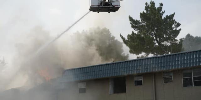 New Mexico construction worker saves baby, toddler from burning building