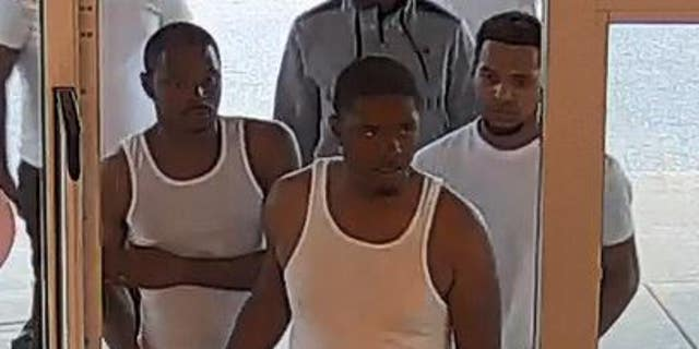 Police are still searching for the suspects — who they say are possibly connected toanother outlet mall case nearby --and released pictures of the men on July 4.