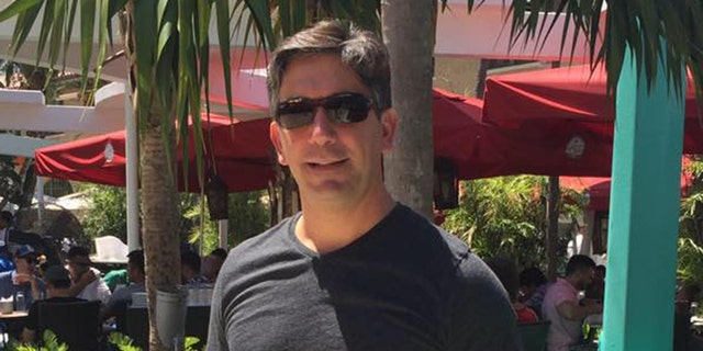 Gabriel Crispo, 49, who was struck and killed while out jogging with his girlfriend and his dog.